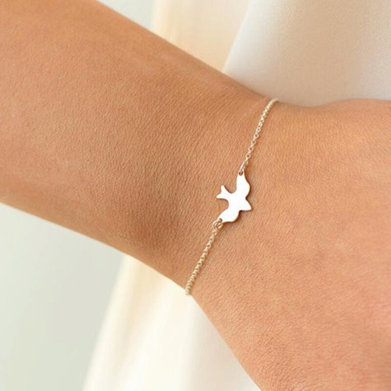 Bracelet cadeau femme ,oiseau