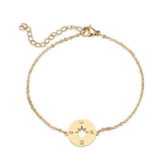 bracelet createur boussole