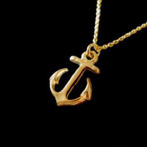 bijoux marin collier ancre