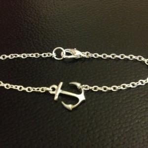 bracelet fantaisie ancre