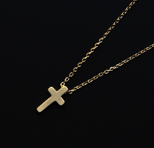 collier petite croix