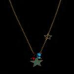 collier fantaisie étoile