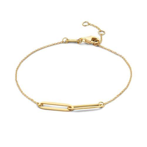 bracelet fantaisie femme plaque or
