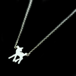 collier fantaisie bambi