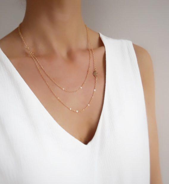 collier romantique