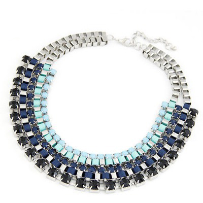 collier strass pas cher
