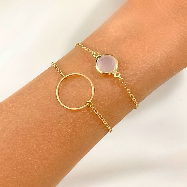 bracelet createur rose tendance