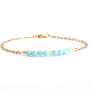 bracelet createur turquoise