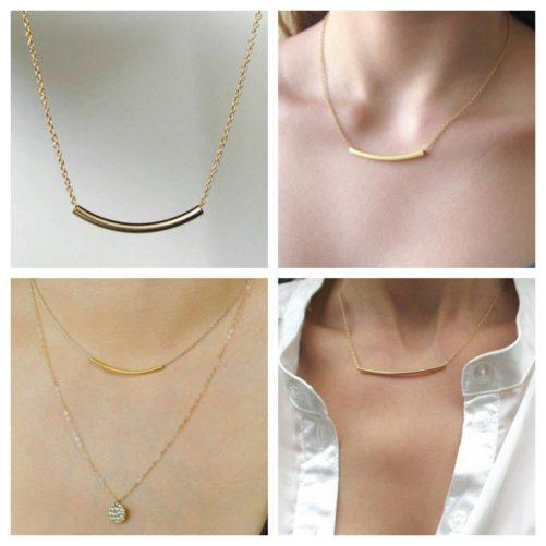 collier fantaisie femme tendance