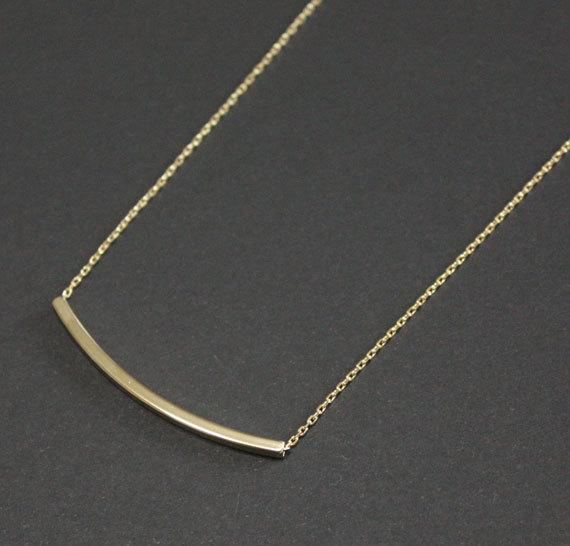 collier minimaliste