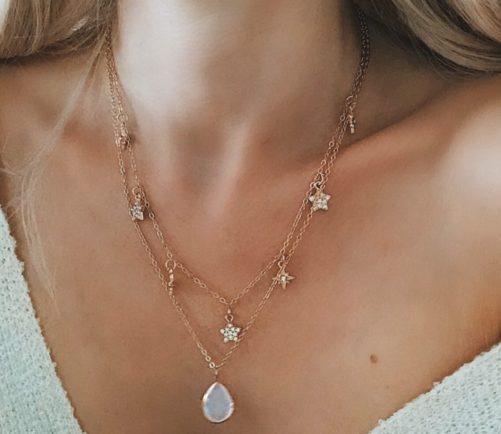collier original pour femme