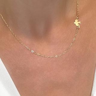 collier pendentif oiseau cadeau