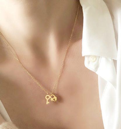 collier romantique cadeau femmes