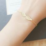 bracelet femme ailes ange