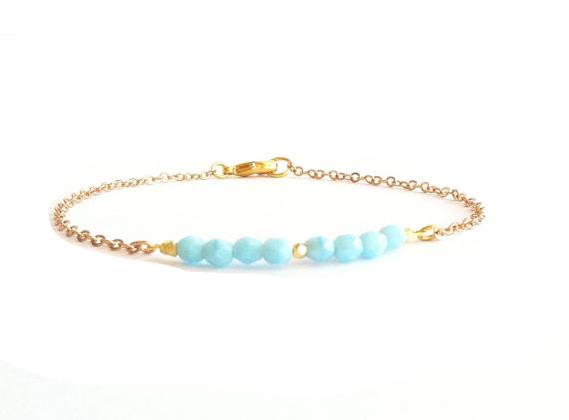 bonne vente de chaussures Beau design bon ajustement Bracelet createur tendance - Ibiza Turquoise