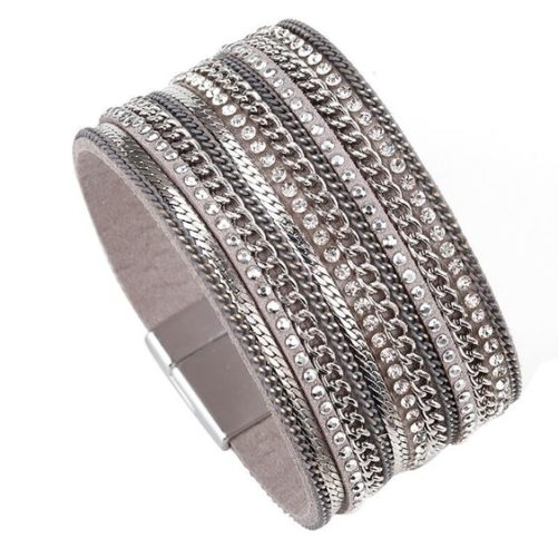 bracelet argente tendance