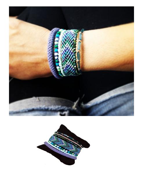 bracelet bresilien femme
