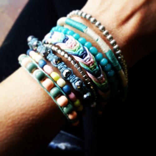 bracelet bresilien multitours