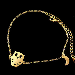 bracelet fantaisie hibou