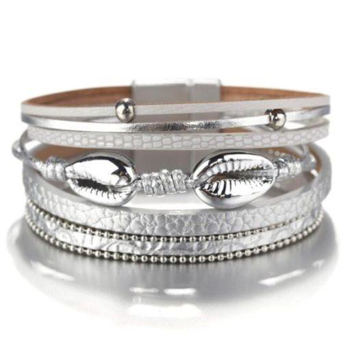 bracelet coquillage original