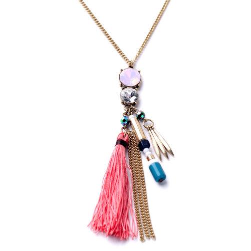 collier fantaisie femme hippie
