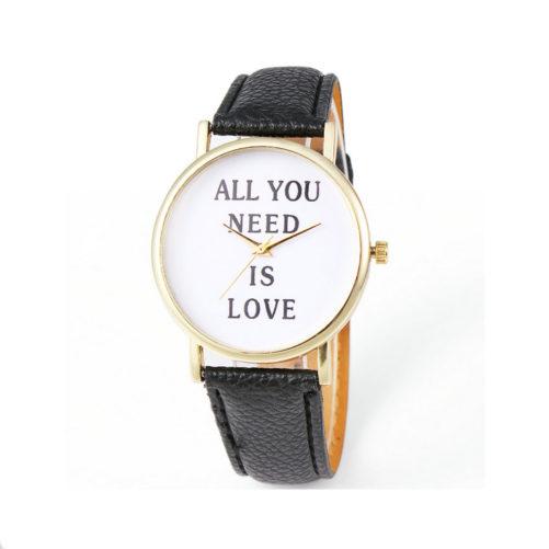 montre love noir