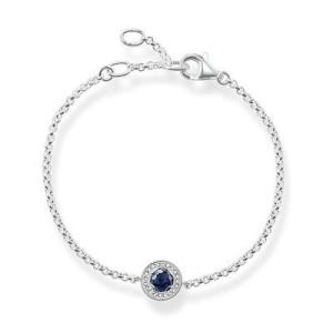 bracelet pierre bleu marine