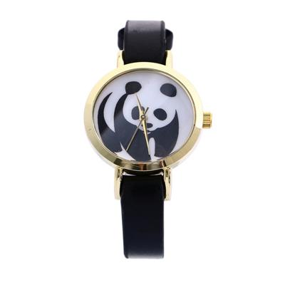 montre panda noir