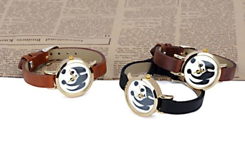 montres tendance femme panda