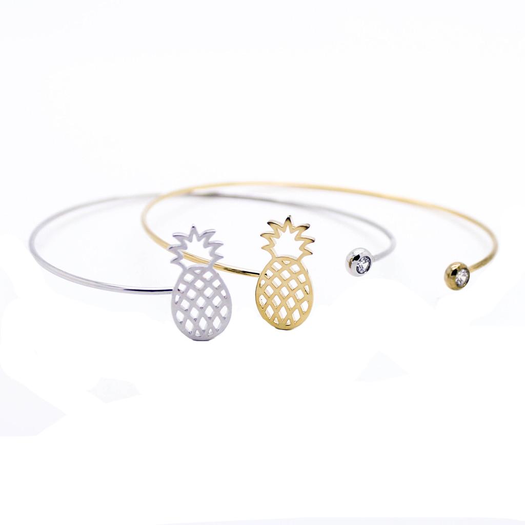 Favori Bracelet cadeau femme – Jonc Ananas – THE TRENDY STORE VI49