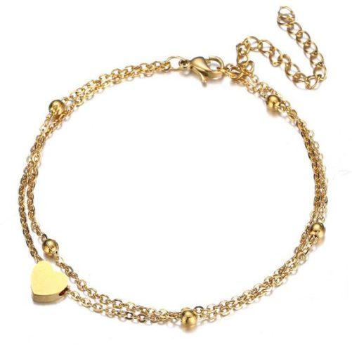 bracelet coeur tendance