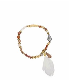 bracelet plume tendance