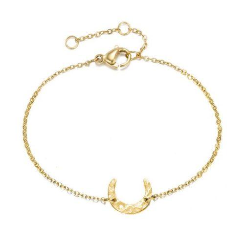 bracelet corne demie lune