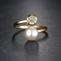 bague tendance perles