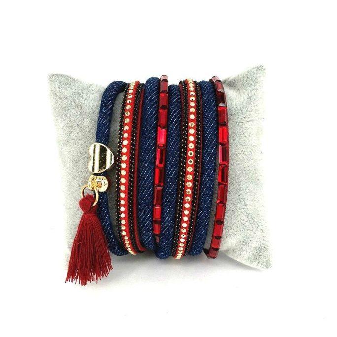 bracelet multitours cadeau femme