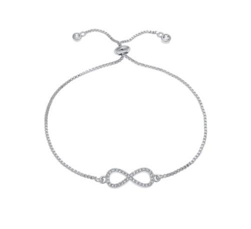 bracelet infini argente
