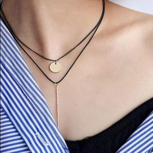 collier multitours femme
