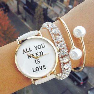 montre love femme