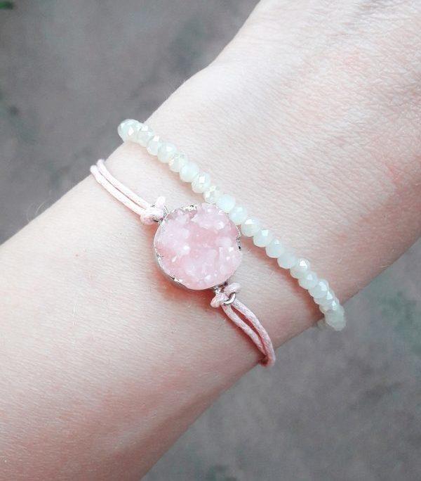 bracelet rose tendance