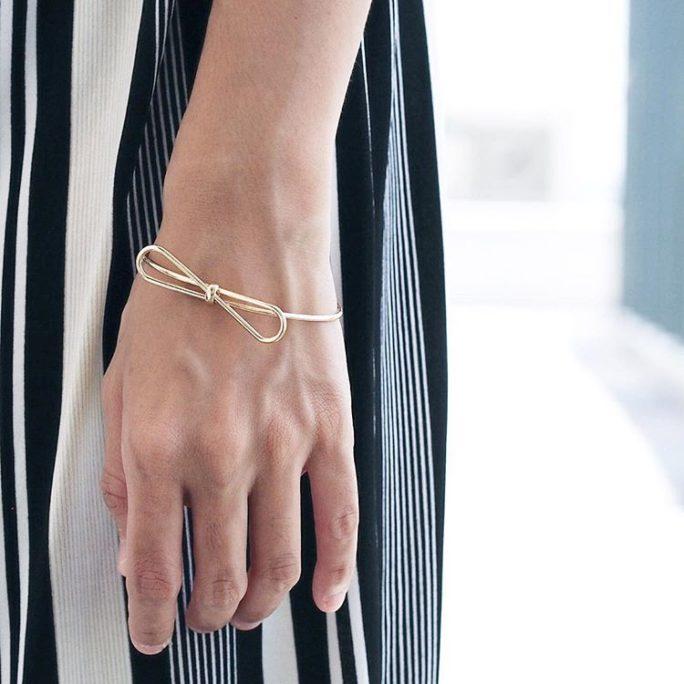bracelet noeud cadeau femme