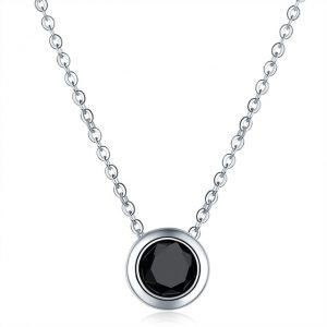 collier tendance noir