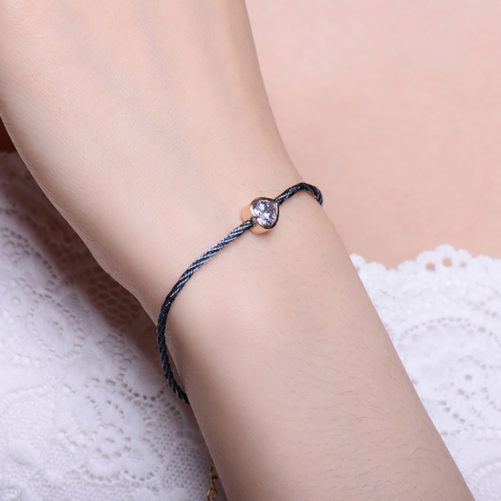 bracelet fantaisie coeur