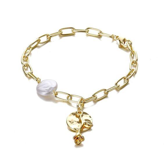 bracelet fantaisie portebonheur