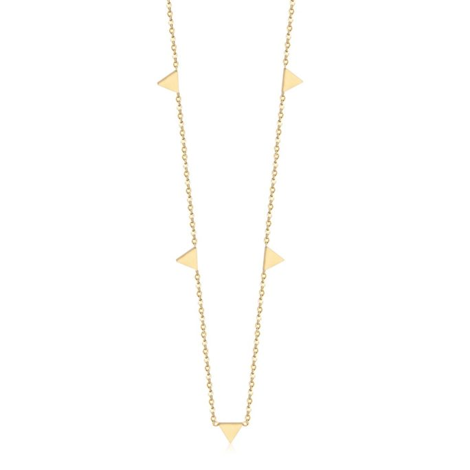collier fantaisie dore