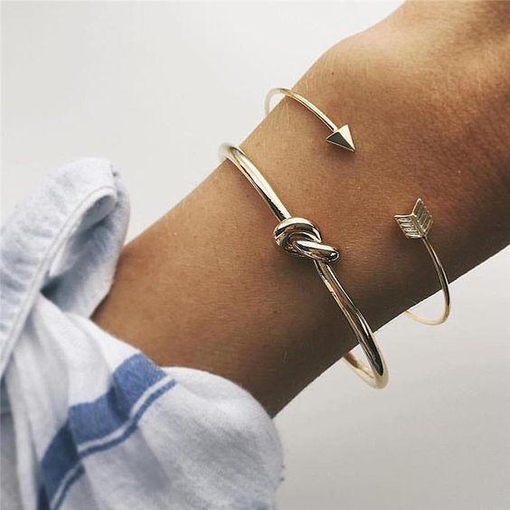 bracelet jonc tendance hiver