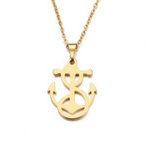collier bijoux ancre