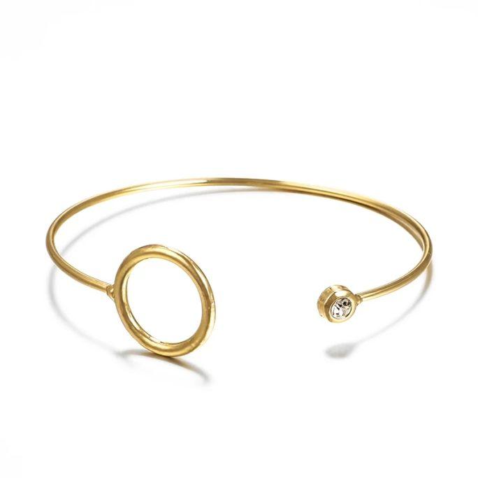 bracelet jonc cercle