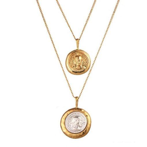 collier createur medailles