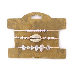 bracelet tendance ete rose