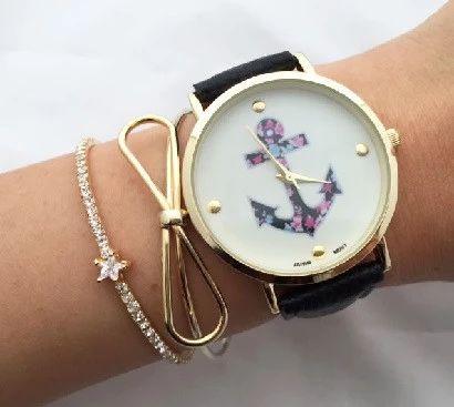 bracelet ancre tendance